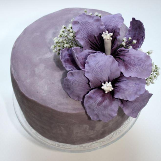 Lila Torte fertig1