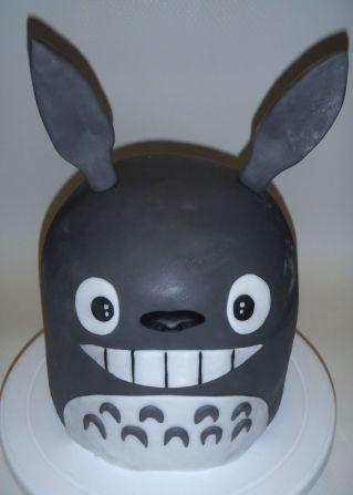 Totoro Torte - Ansicht 2