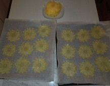 Ananasblüten herstellen
