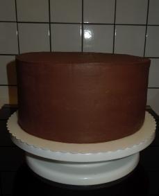 Torte ganachiert