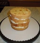WeißeSchoki-Himbeer-Torte naked