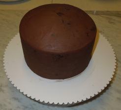 Brownie Torte ganachiert