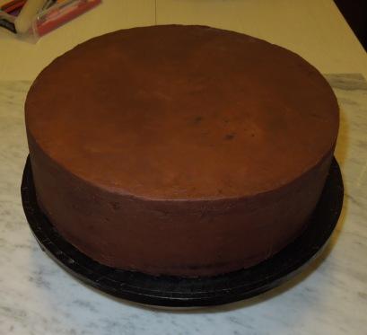 Sacher Torte ganachiert