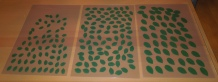 fondantblätter grün