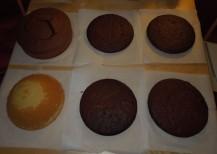 tortenböden sacher brownie biskuit