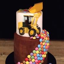 Torte Bagger Smarties